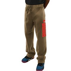 Men's Majestic Cleveland Browns Critical Victory Fleece Pants