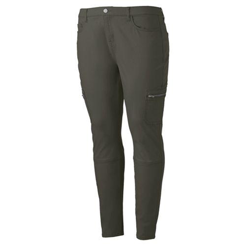 Juniors' Plus Size Mudd® Cargo Utility Skinny Pants
