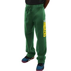 Men's Majestic Green Bay Packers Critical Victory Fleece Pants