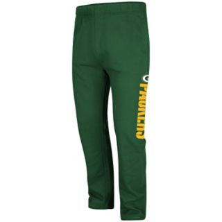 Men's Majestic Green Bay Packers Critical Victory Fleece Pants