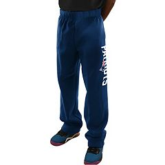 Men's Majestic New England Patriots Critical Victory Fleece Pants