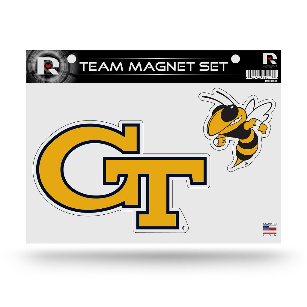 Georgia Tech Yellow Jackets Team Magnet Set
