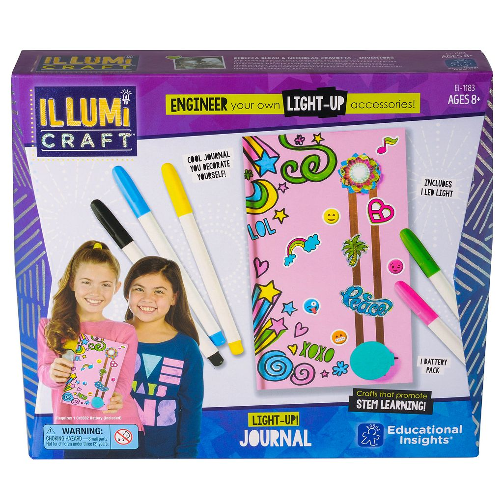 Educational Insights IllumiCraft Light-Up! Journal
