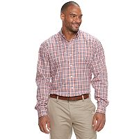 Big & Tall IZOD Advantage Sportflex Regular-Fit Stretch Button-Down Shirt
