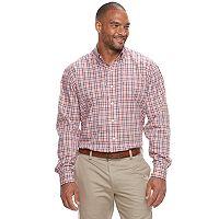 Big & Tall IZOD Advantage Sportflex Regular-Fit Stretch Button-Down Shirt
