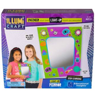 Educational Insights IllumiCraft Light-Up! Mirror