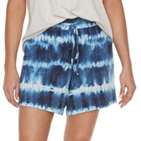 Plus Size SONOMA Goods for Life™ Everyday Essential Jersey Shorts