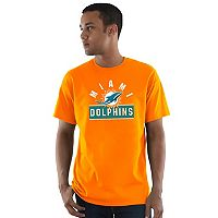 Men's Majestic Miami Dolphins Maximized Tee