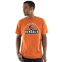 Men's Majestic Cincinnati Bengals Maximized Tee