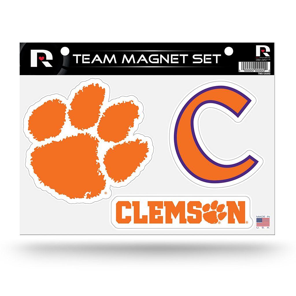 Clemson Tigers Team Magnet Set