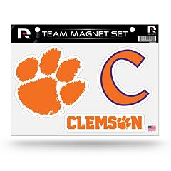 Clemson Tigers Team Magnet Set