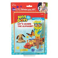 Educational Insights Hot Dots Jr. Let's Learn the Alphabet Interactive Book & Pen Set