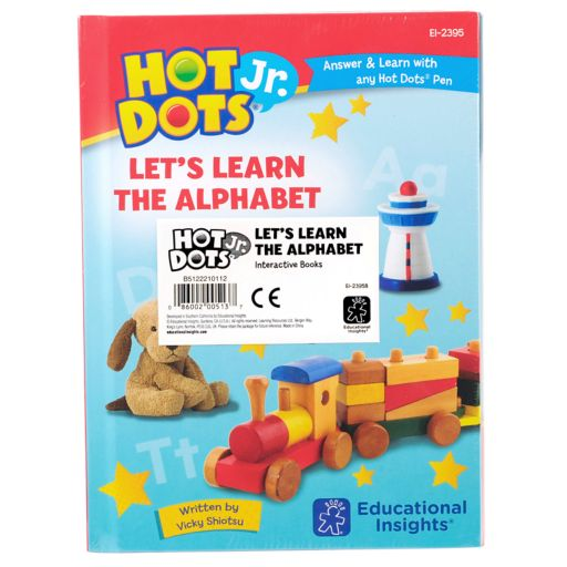 Educational Insights 5-pc. Hot Dots Jr. Let's Learn the Alphabet Interactive Books Set