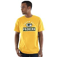Men's Majestic Green Bay Packers Maximized Tee