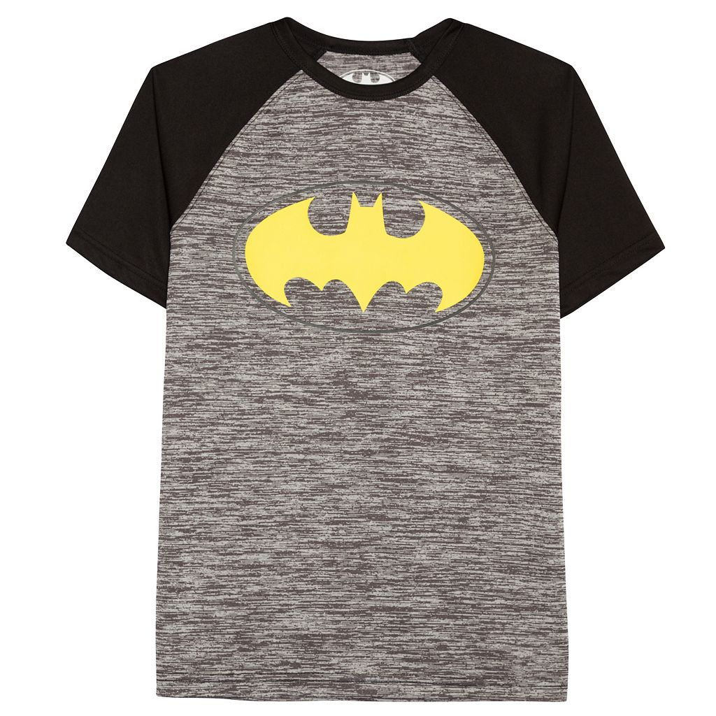 Boys 8-20 DC Comics Batman Logo Raglan Tee