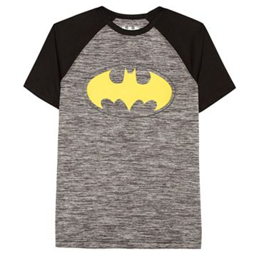 Boys 8-20 DC Comics Batman Logo Raglan Tee