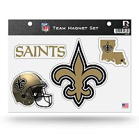 New Orleans Saints Team Magnet Set