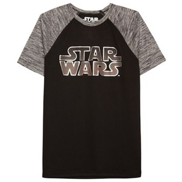 Boys 8-20 Star Wars Raglan Tee