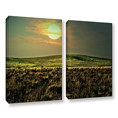 ArtWall Corner Pocket Canvas Wall Art 2-piece Set