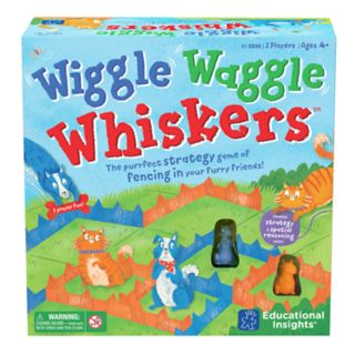 Educational Insights Wiggle Waggle Whiskers Board Game