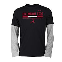 Boys 8-20 Nike Alabama Crimson Tide Legend Tee Set