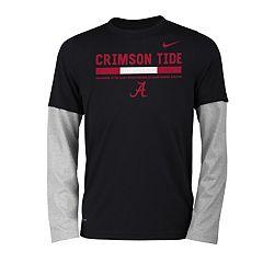 Boys 8-20 Nike Alabama Crimson Tide Legend Tee Set