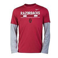 Boys 8-20 Nike Arkansas Razorbacks Legend Tee Set