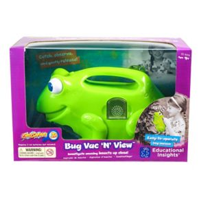 Educational Insights GeoSafari Jr. Bug Vac 'N' View