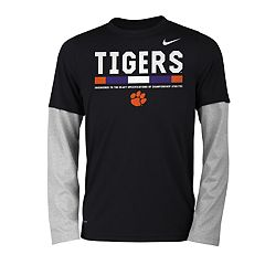 Boys 8-20 Nike Clemson Tigers Legend Tee Set