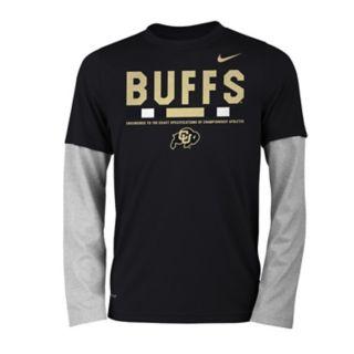 Boys 8-20 Nike Colorado Buffaloes Legend Tee Set