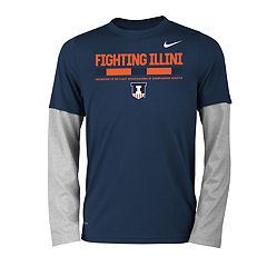 Boys 8-20 Nike Illinois Fighting Illini Legend Tee Set