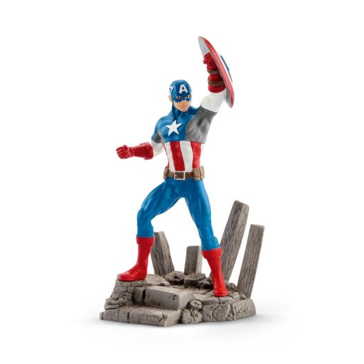 Marvel Captain America Figure by Schleich