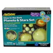 Educational Insights GeoSafari Glow-in-the-Dark Planets & Starts Set