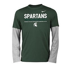 Boys 8-20 Nike Michigan State Spartans Legend Tee Set