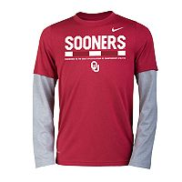 Boys 8-20 Nike Oklahoma Sooners Legend Tee Set