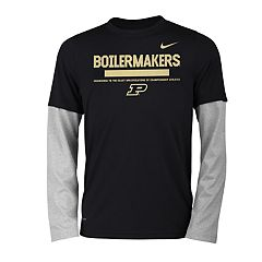 Boys 8-20 Nike Purdue Boilermakers Legend Tee Set
