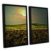 ArtWall Corner Pocket Framed Wall Art 2 pc Set