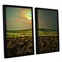 ArtWall Corner Pocket Framed Wall Art 2-piece Set