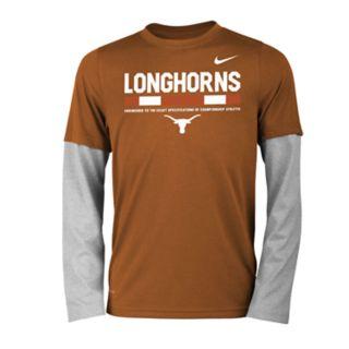 Boys 8-20 Nike Texas Longhorns Legend Tee Set