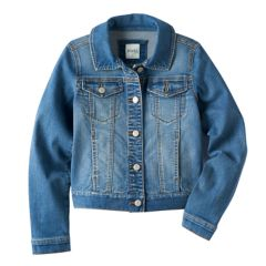 Girls Denim Jackets Kids Coats Jackets Outerwear Clothing Kohl S