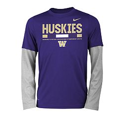 Boys 8-20 Nike Washington Huskies Legend Tee Set