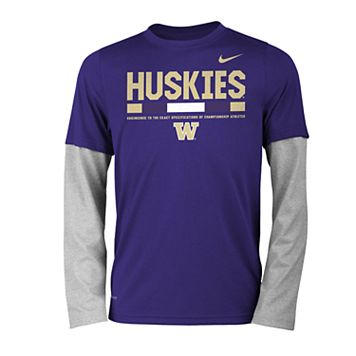 Boys 8-20 Nike Washington Huskies Legend Tee Set