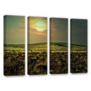 ArtWall Corner Pocket Canvas Wall Art 4-piece Set