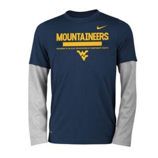 Boys 8-20 Nike West Virginia Mountaineers Legend Tee Set