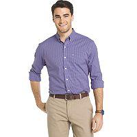 Big & Tall IZOD Sport Flex Plaid Button-Down Shirt