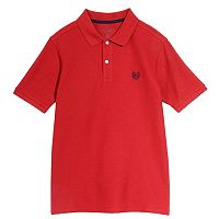 Boys 4-20 Chaps Solid Stretch Polo