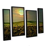 ArtWall Corner Pocket Framed Wall Art 4 pc Set