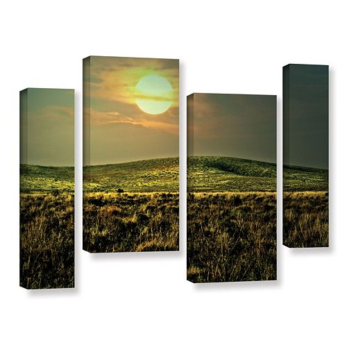 ArtWall Corner Pocket Canvas Wall Art 4-piece Set