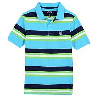 Boys 4-20 Chaps Striped Stretch Polo