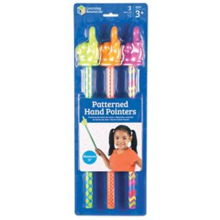 Learning Resources 3-pc. Patterned Hand Pointers Set